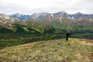 Backpacking Chugach State Park