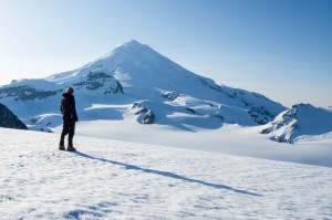 Skiing the Chigmit Volcanoes - Iliamna - Lake Clark National Park