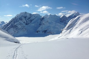 Skiing the Neacolas - Lake Clark National Park